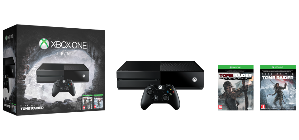 Xbox One Rise of the Tomb Raider-Bundle