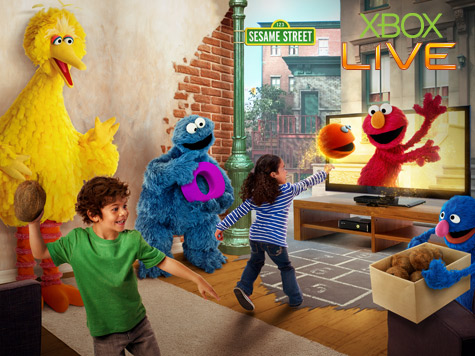 Kinect Sesame Street