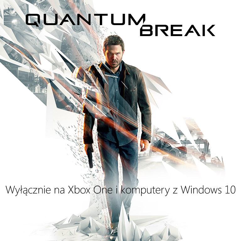 Quantum Break  on Windows 10 page hero