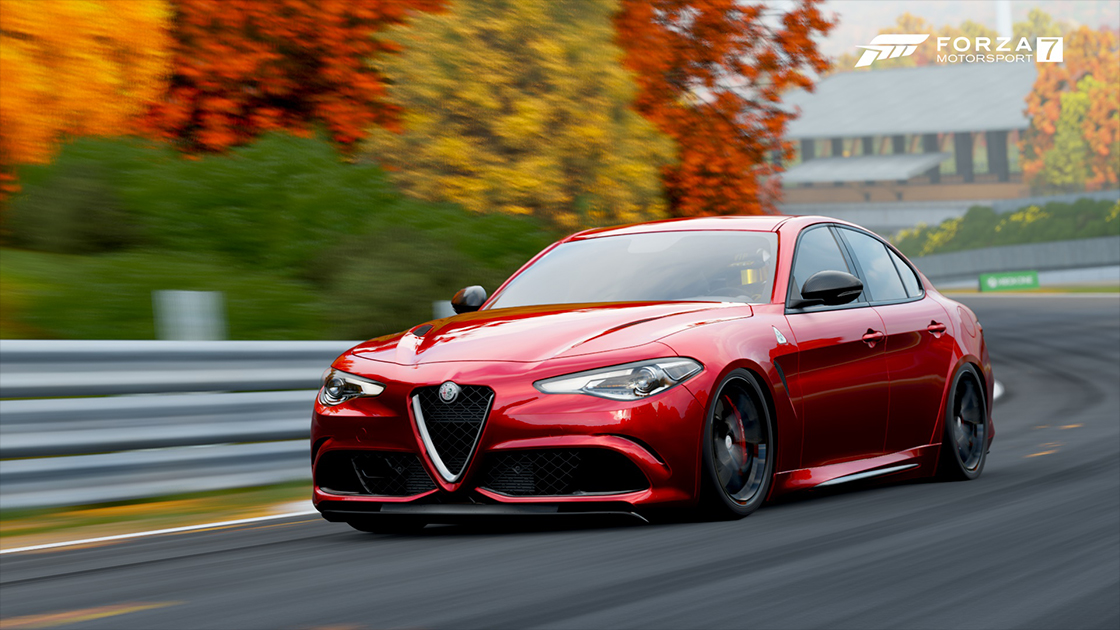 ... Model That Just Came Out In The Samsung QLED Car Pack For Forza  Motorsport 7, Alfa Romeo Has Always Delivered Unique Designs That Are Fun  To Drive.