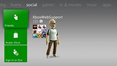 Social in Xbox Live