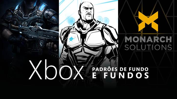 Padrões de fundo e fundos grátis da Xbox