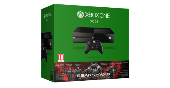 Balík konzoly Xbox One s hrou Gears of War: Ultimate Edition