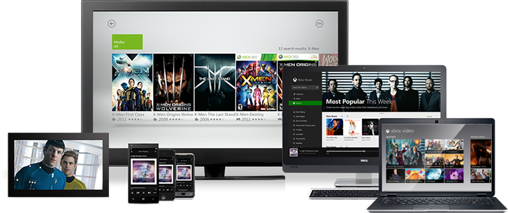 Your home for entertainment, music and apps.