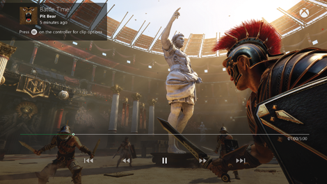 Ryse for Xbox One Upload screenshot
