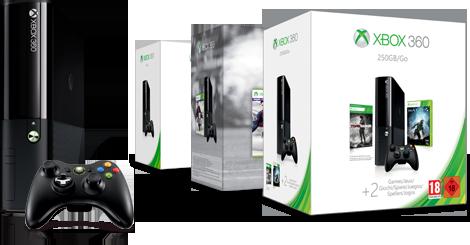 Encuentra la consola Xbox 360 perfecta para ti.