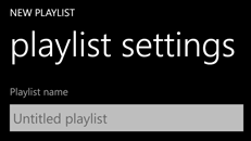 Create, edit, and delete playlists on your Windows Phone 8