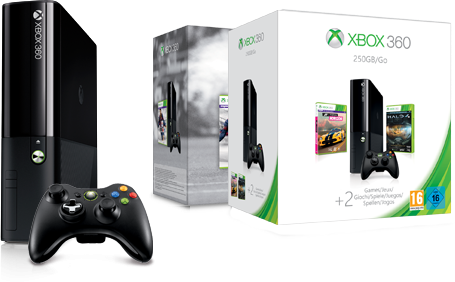 Find the right Xbox 360 console for you.