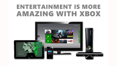 Entertainment is more Amazing with Xbox