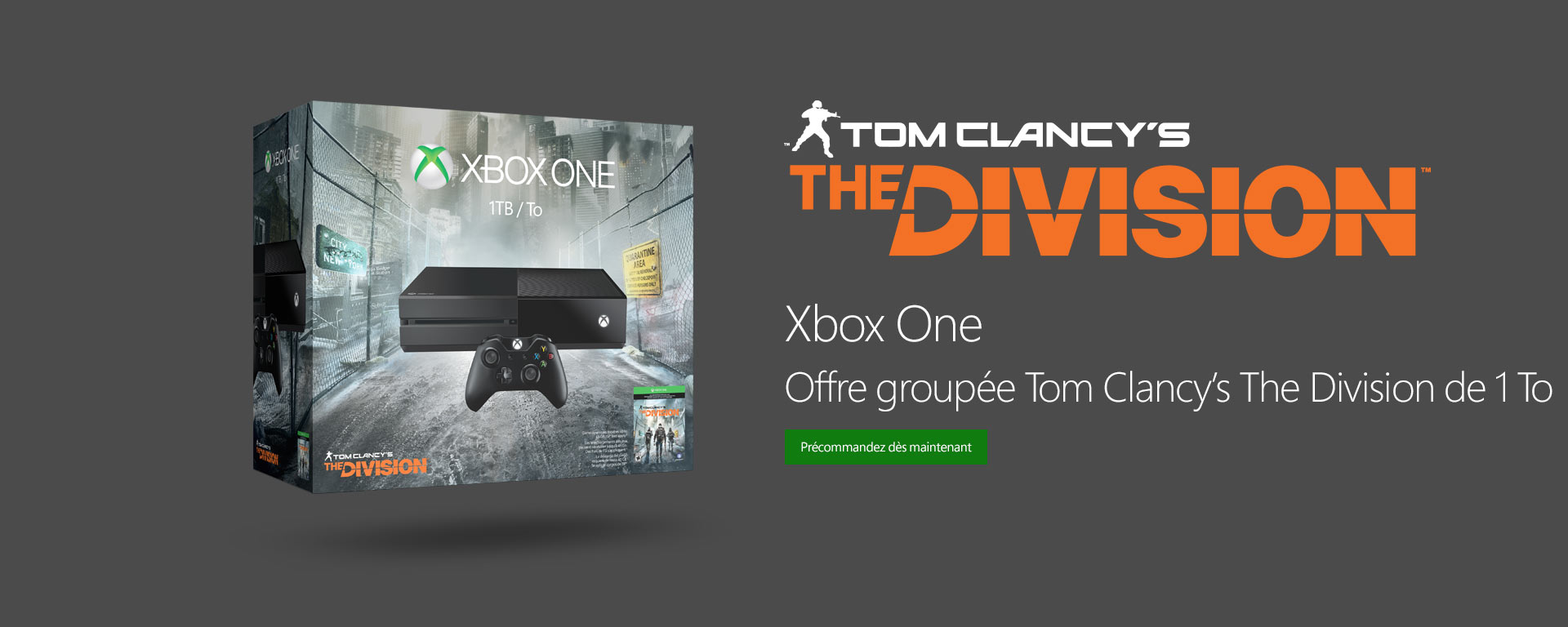 Offre groupée Tom Clancy's The Division de 1 To