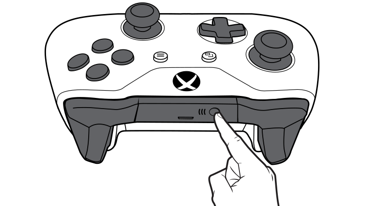 Bind button on Xbox Wireless Controller