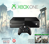 Xbox One Assassin's Creed Unity Bundle box shot front view