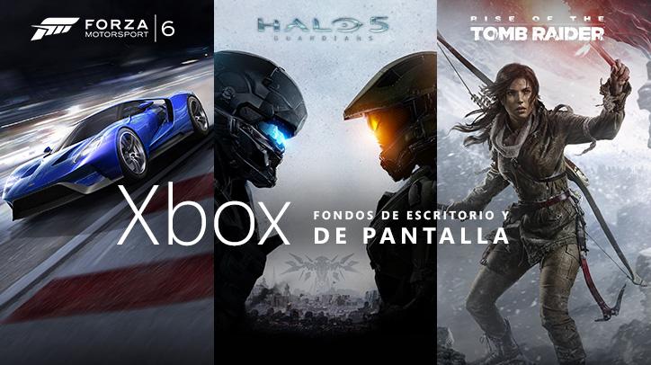 Fondos de pantalla y escritorio gratis para Xbox