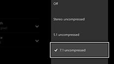 Xbox One に接続された外付けテレビチューナーの音質が悪い、または聞こえない