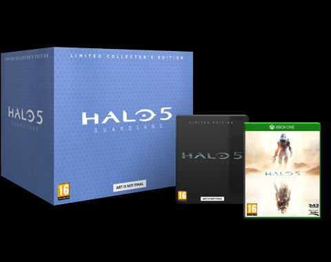Halo 5: Guardians Edición Limitadas