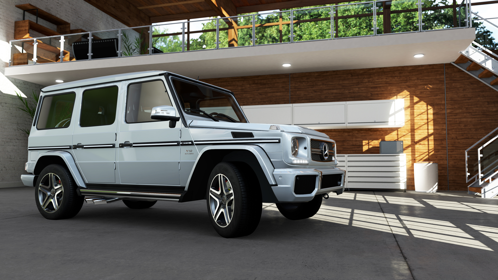 Forza motorsport 5 cars for Mercedes benz g65