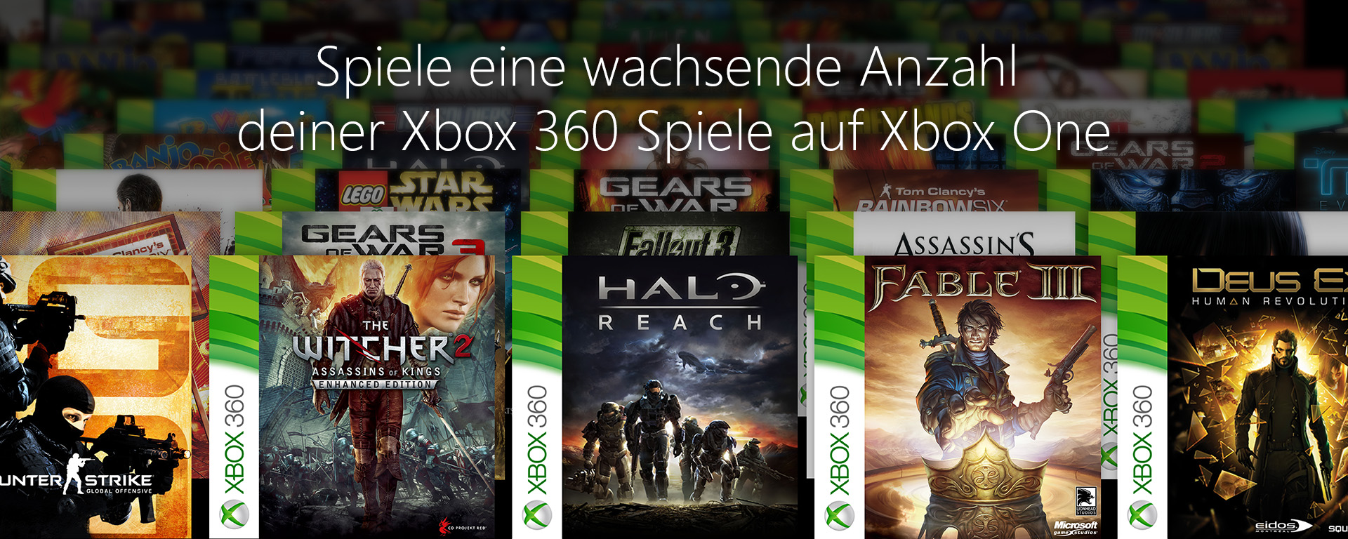 Play Xbox 360 games on Xbox One
