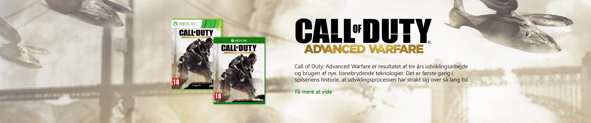 cod-advanced-warfare for Xbox One