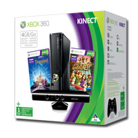 Xbox 360® 4GB Kinect Holiday Value Bundle