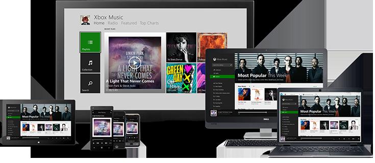 Más formas de disfrutar tu música.
