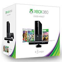 Paquete Xbox 360® 250GB con Kinect