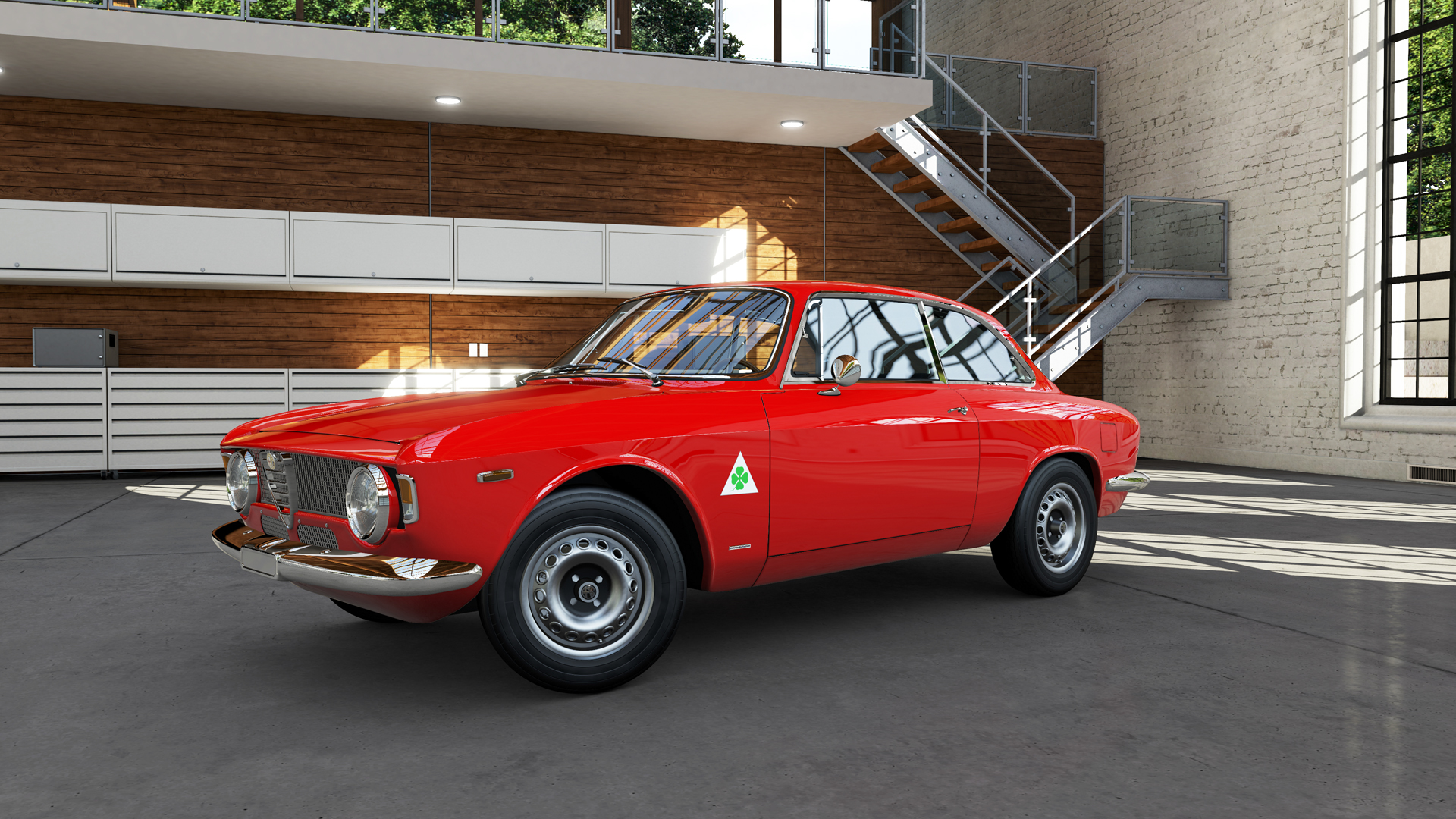 Alfa romeo gta replica wheels 10