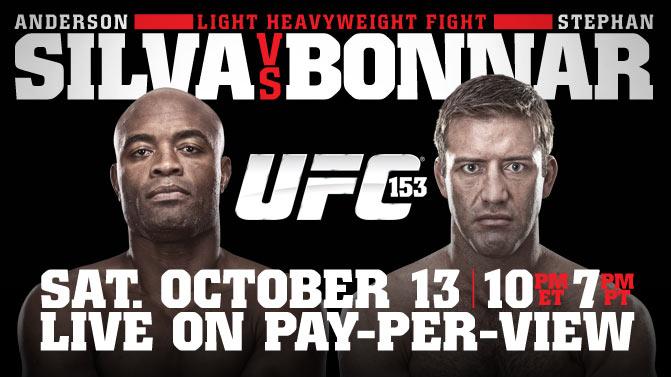UFC 153 on Xbox LIVE