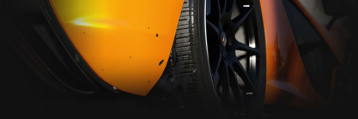 Hi-res damage modeling in Forza 5 shows every scrape