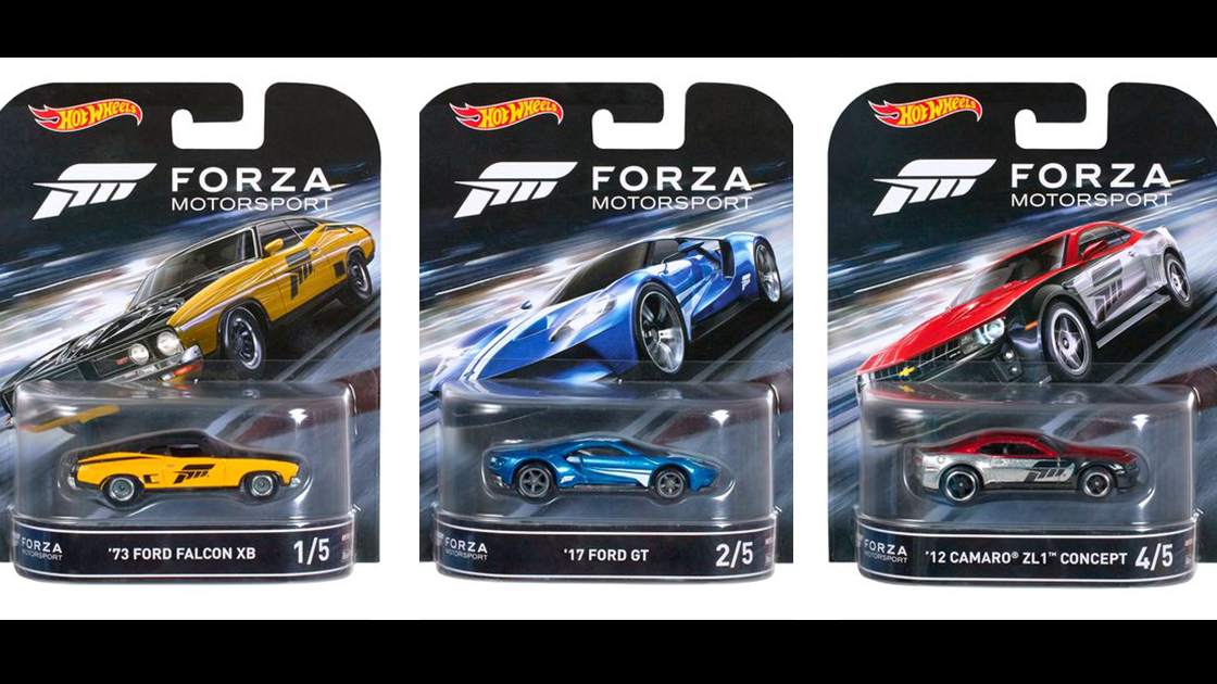 Forza Hot Wheels On Their Way