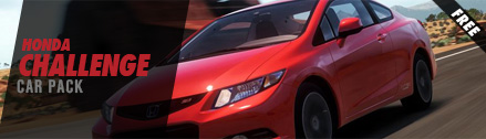 Honda Challenge Car Pack