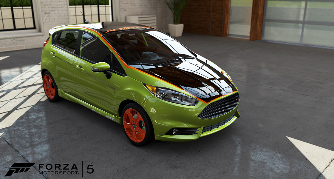 Forza motorsport mrt ford fiesta ms store tour