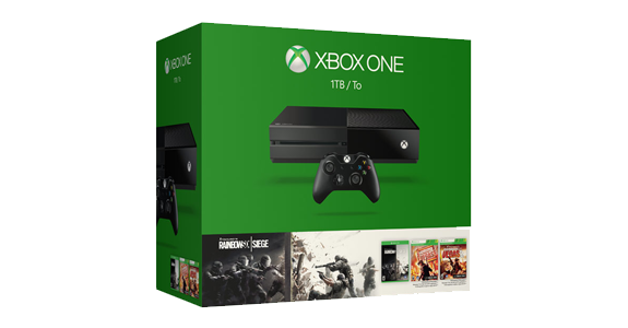 Xbox One 1TB Rainbow Six Siege Bundle