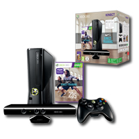 Xbox 360 4 GB Nike+ KINECT Training Paket