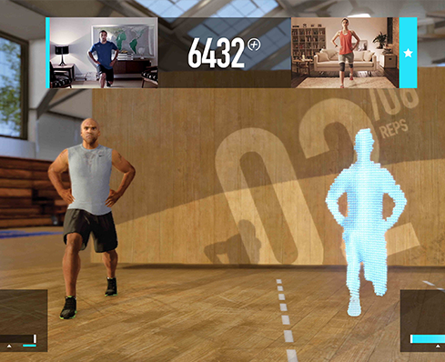 Keep fit with Xbox.