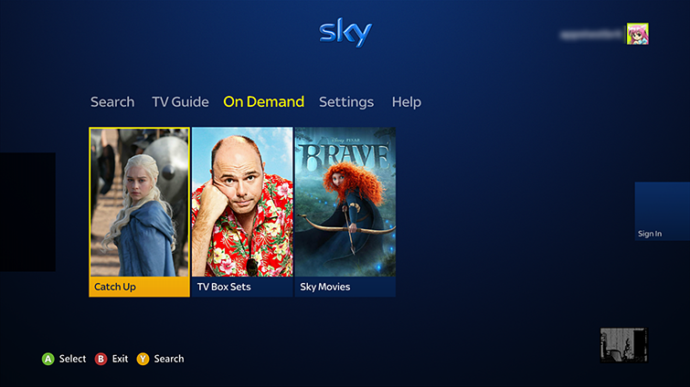 Set up and use the sky app on xbox 360 - Can you watch sky box office on sky go ...