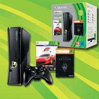 Xbox 360® 250 GB Holiday Value-pakke