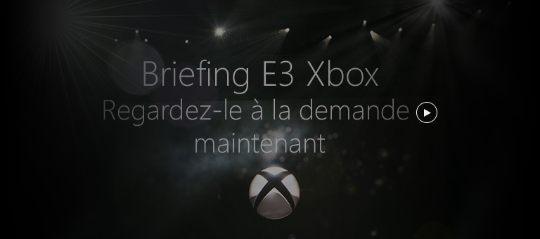 Xbox briefing streaming now