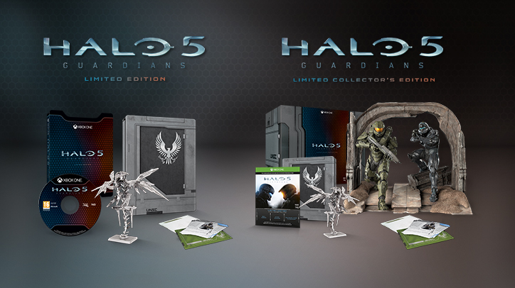 Halo 5: Guardians | Limited Editions | Xbox One