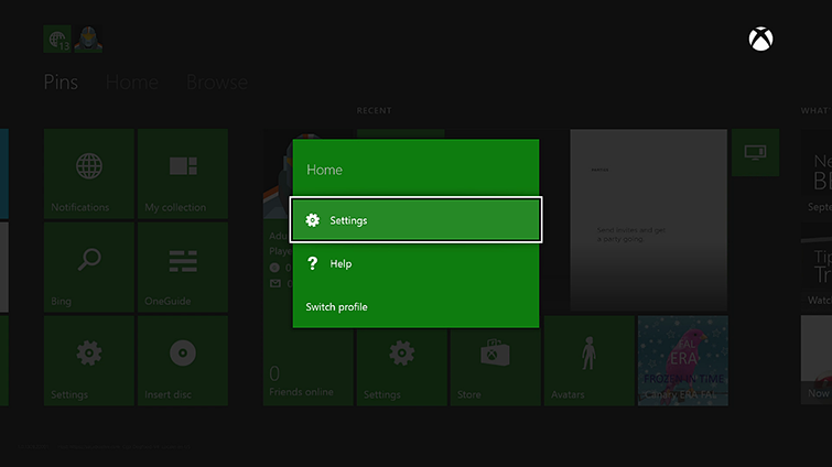 how to sign into xbox live with existing account