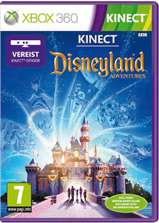 Kinect Disneyland Adventures Game Box
