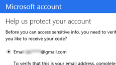"""Call us overprotective, but we need to verify that this email is yours"" message when signing in to Xbox.com"