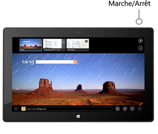 Bouton Marche/Arrêt sur SurfacePro et SurfacePro2