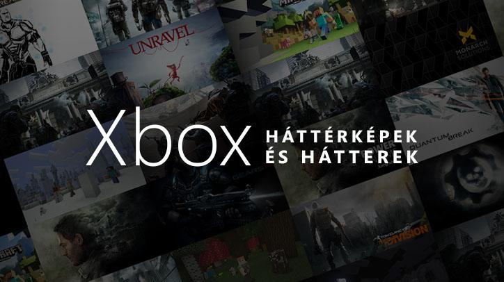 Ingyenes Xbox-hátterek és -háttérképek