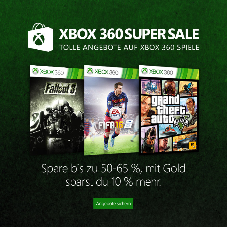 Xbox 360 Super Sale | Xbox