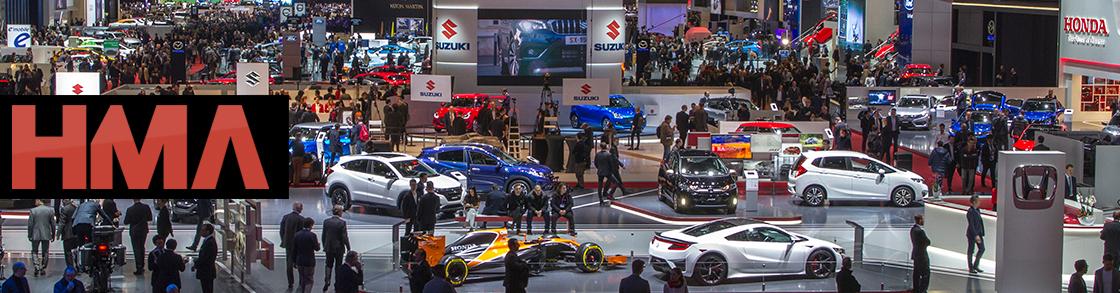 Forza Motorsport Heavy Metal Affliction Geneva Motor Show - Major car shows