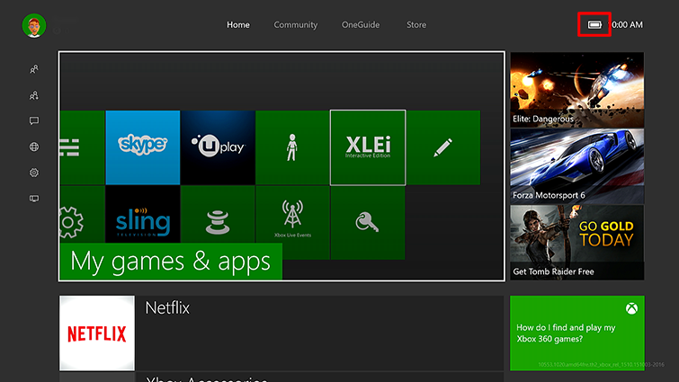 How To Check Xbox One Controller Battery Level Xbox One Accessories