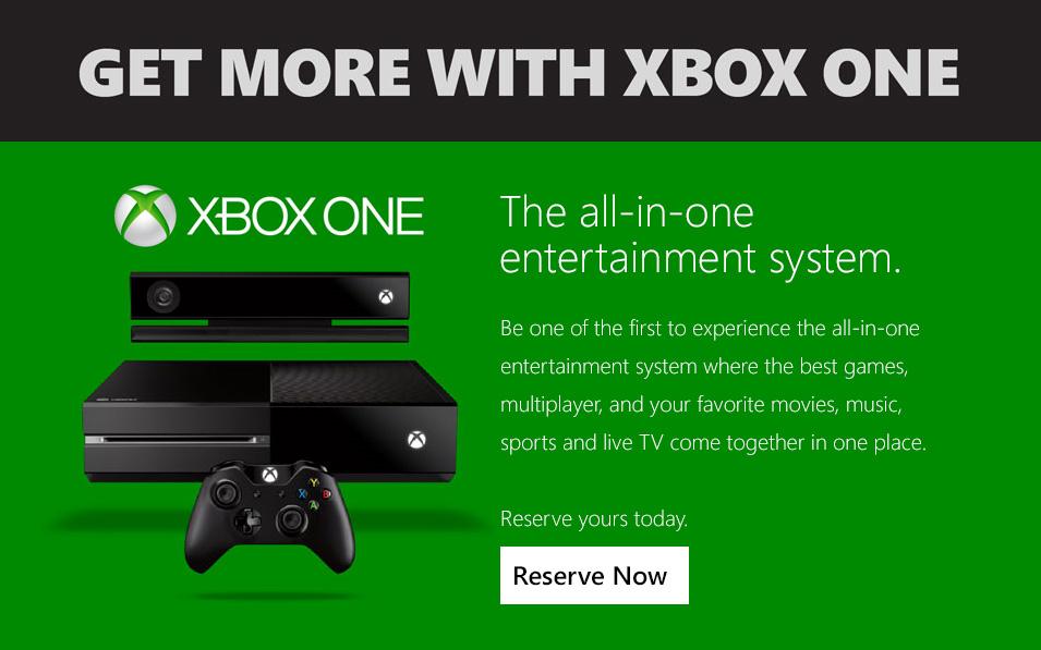Xbox One Ad 1