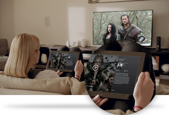 Watch a movie with Xbox SmartGlass
