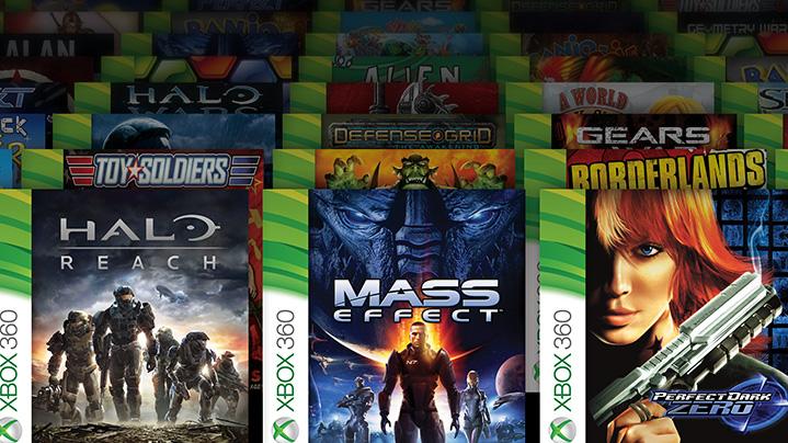 Jouez aux jeux Xbox360 sur Xbox One