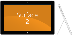 Surface 2 front and side